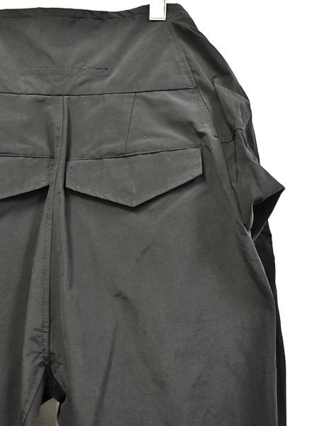 JULIUS sleeve pants black 通販 GORDINI009