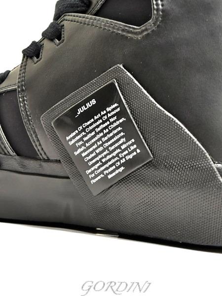 JULIUS スニーカー 黒 通販 GORDINI007のコピー