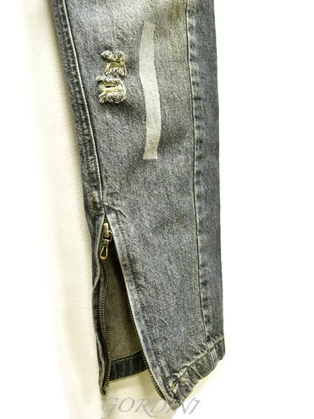 JULIUS rider pants indigo 通販 GORDINI006のコピー
