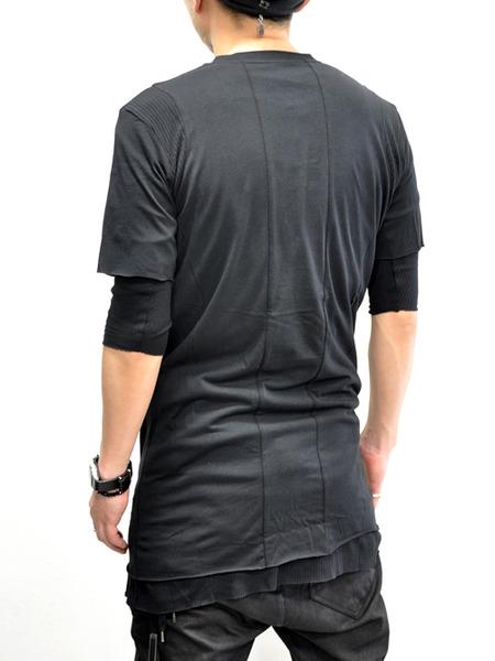 ARMY OF ME WレイヤードコットンTシャツ 通販 GORDINI004