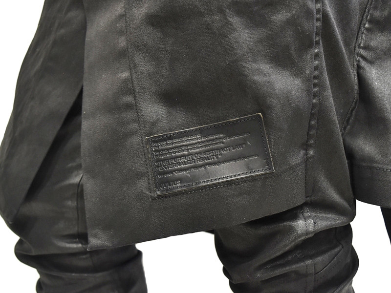 JULIUS skirt pants 着用 接写 通販 GORDINI004