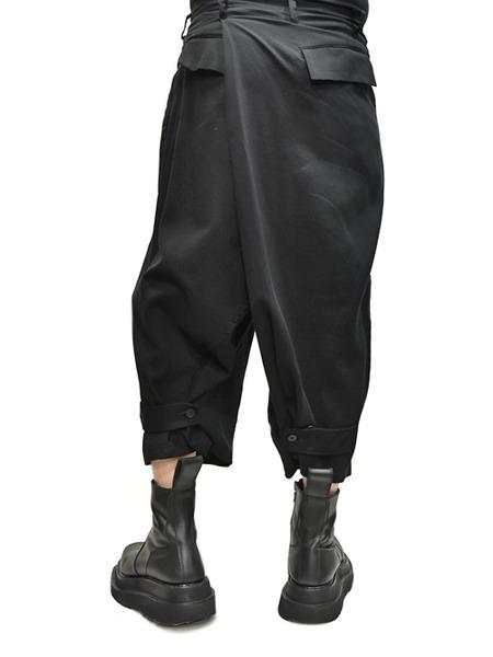 JULIUS wrap baggy trousers 着用 通販 GORDINI008
