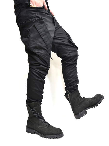 JULIUS ガスマスクパンツ 黒 通販 GORDINI007
