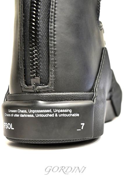 JULIUS スニーカー 黒 通販 GORDINI019のコピー