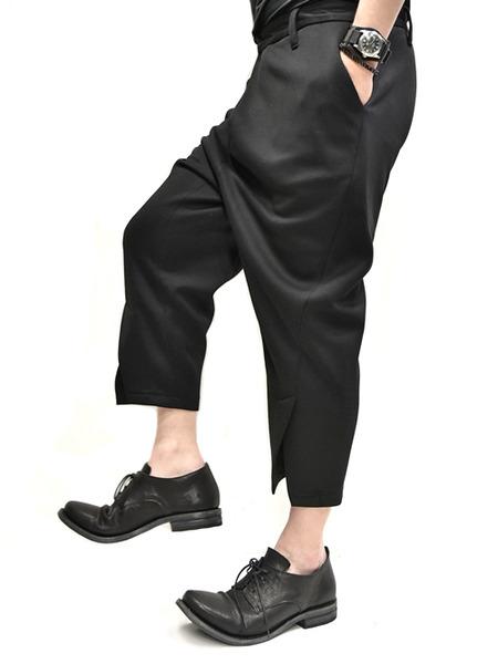 JULIUS tucked slit pants  通販 GORDINI007