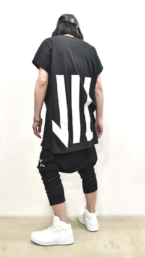 """NILøS Back """"家紋"""" T-Shirt 着用 通販 GORDINI008"""