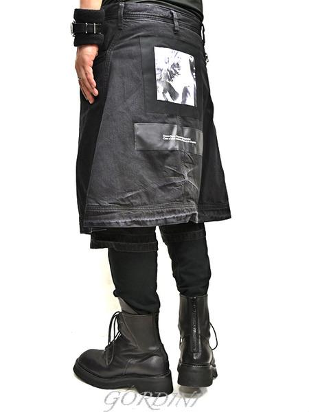 JULUS layered pants 通販 GORDINI005のコピー