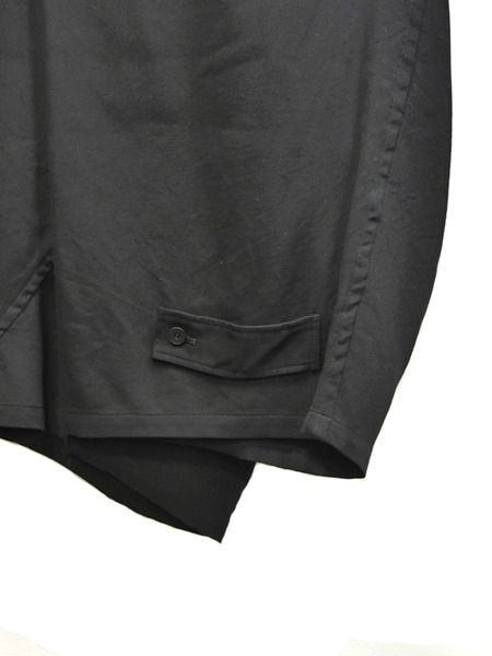 JULIUS wrap baggy trousers 通販 GORDINI007