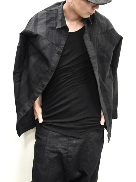 JULIUS ハーネスチェックシャツ 通販 GORDIN010