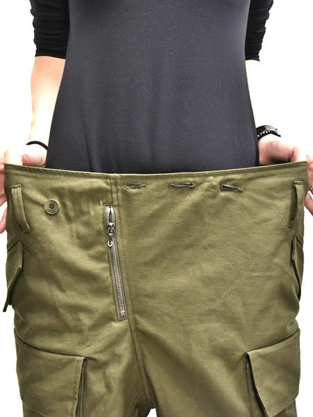 JULIUS baggy cargo khaki 着用 通販 GORDINI010