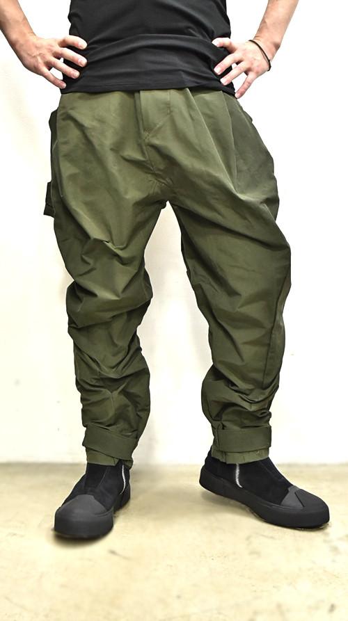JULIUS Sleeve Baggy Pants 通販 GORDINI006
