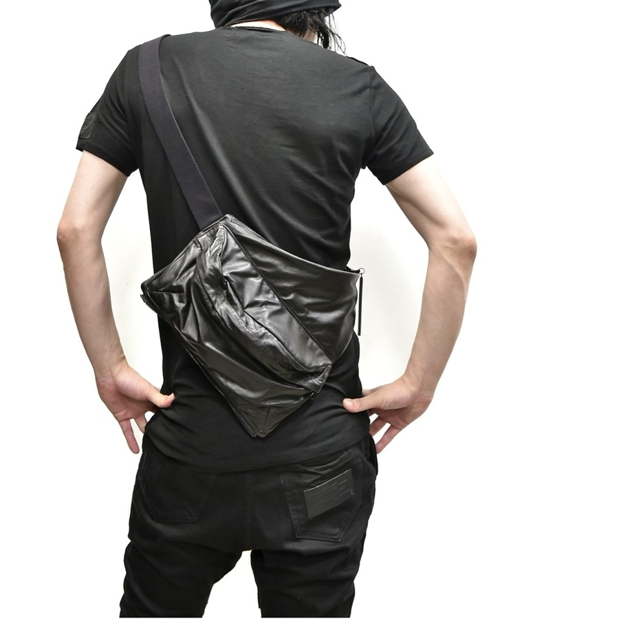 JULIUS bodybag leather 通販 GORDINI002