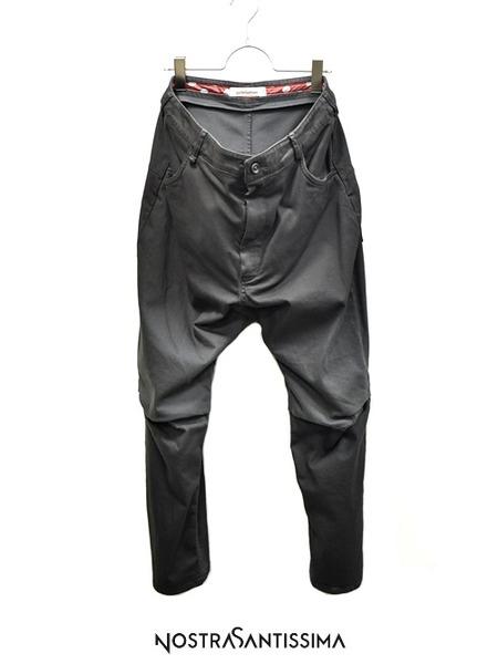 Nostrasantissima crotch pants 通販 GORDINI001