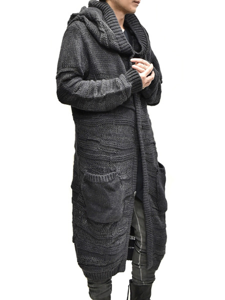 Nostra KNIT HOODED COAT 通販 GORDINI008
