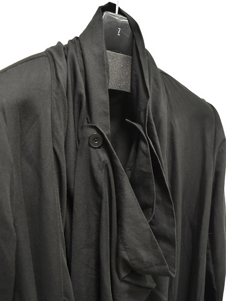 JULIUS drape coat 通販 GORDINI002