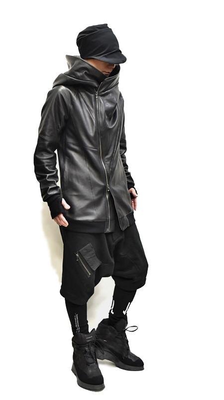 JULIUS leather PARKA set 通販 GORDINI001