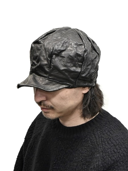 kloshar Leather Cap 通販 GORDINI002