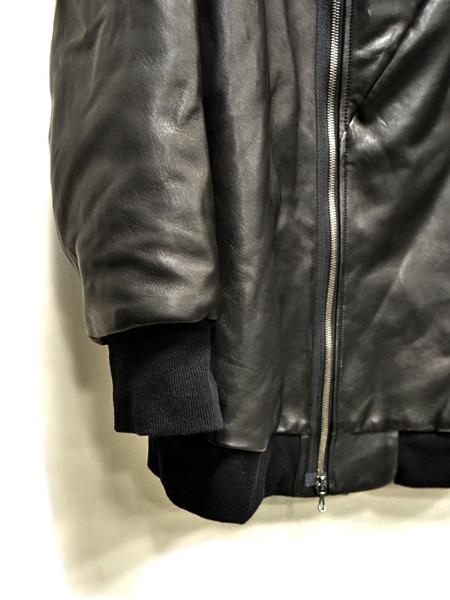 JULIUS leather parka 通販 GORDINI003