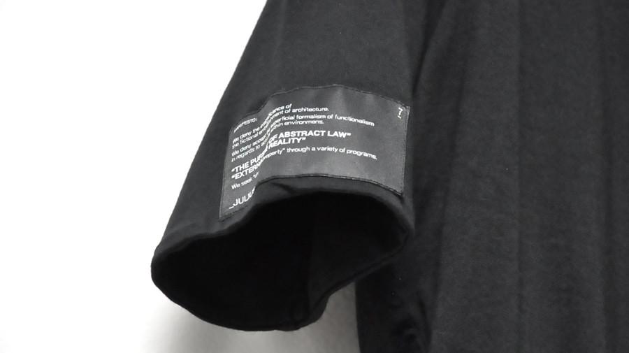 JULIUS limited シャーリングカットソー item 900 通販 GORDINI001