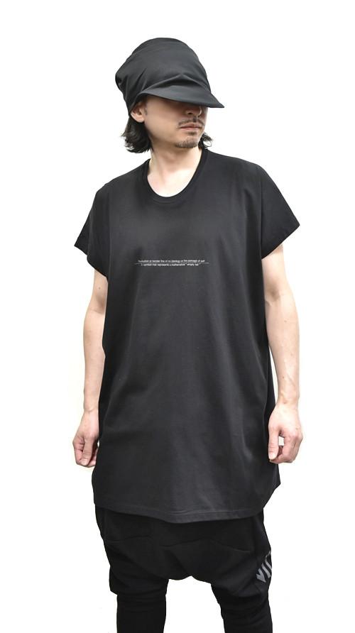 """NILøS Back """"家紋"""" T-Shirt 着用 通販 GORDINI001"""