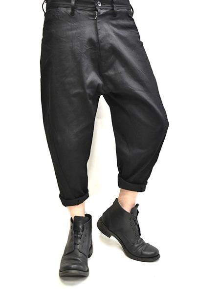 JULIUS bending cropped pants 着用 通販 GORDINI002