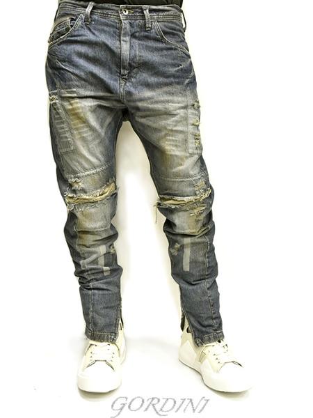 JULIUS rider pants indigo 通販 GORDINI016のコピー