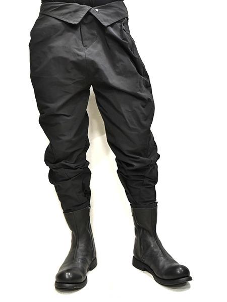 JULIUS Jumpsuit pants black 着用 通販 GORDINI011