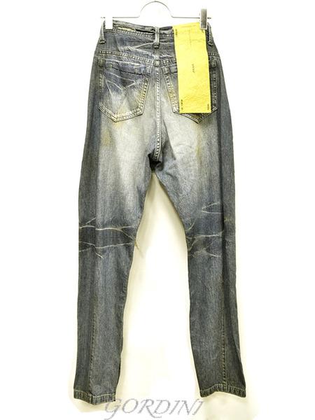 JULIUS rider pants indigo 通販 GORDINI007のコピー