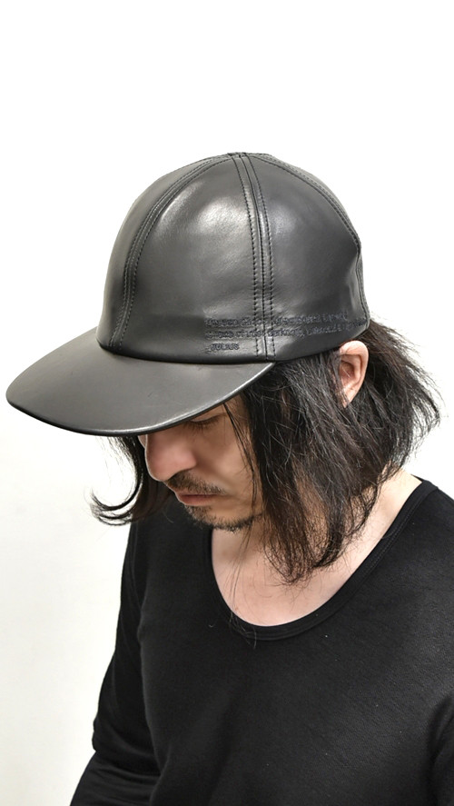 JULIUS  Leather Cap 通販 GORDINI002