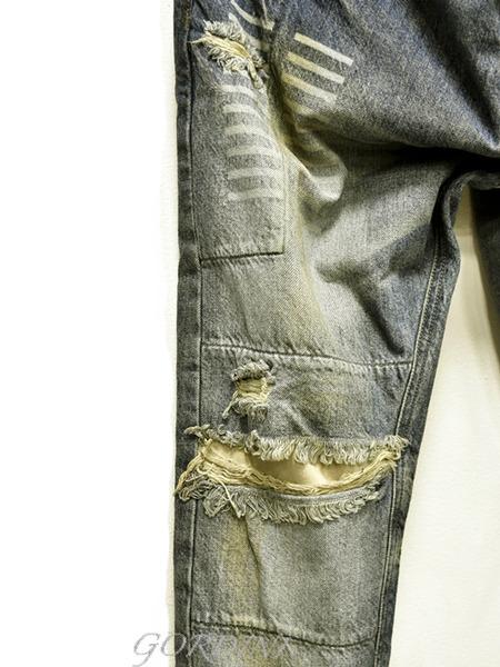 JULIUS rider pants indigo 通販 GORDINI004のコピー