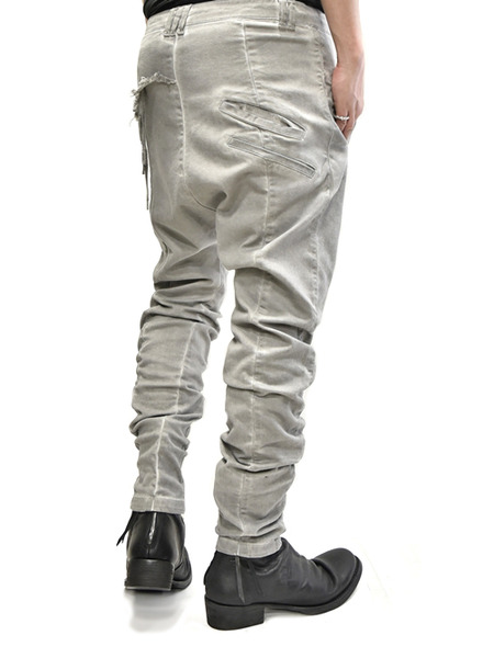 ARMY crotch pants beige 通販 GORDINI013