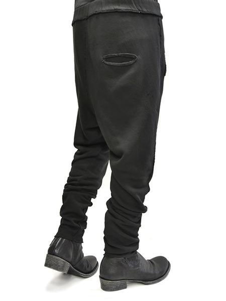 primordial crotch pants black 通販 GORDINI011