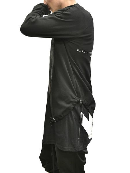 NILøS Skinny Zip Shirt 着用 通販 GORDINI003