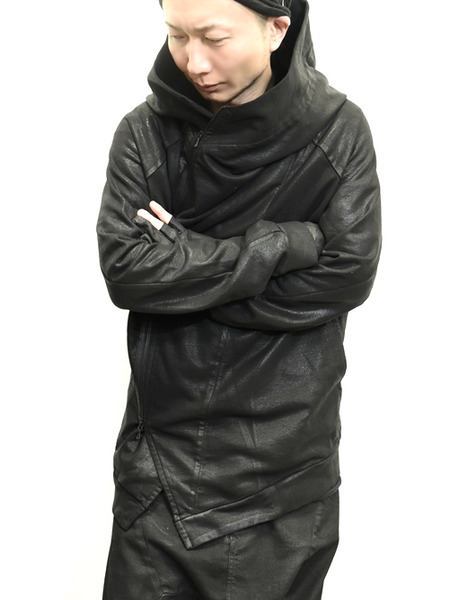 JULIUS coated zipup parka 通販 GORDINI003