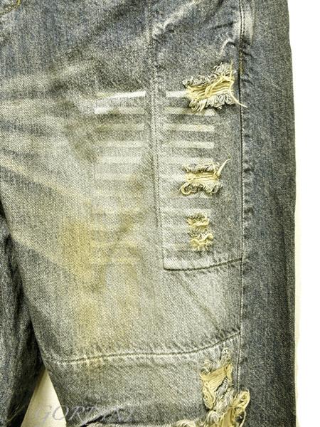 JULIUS rider pants indigo 通販 GORDINI005のコピー