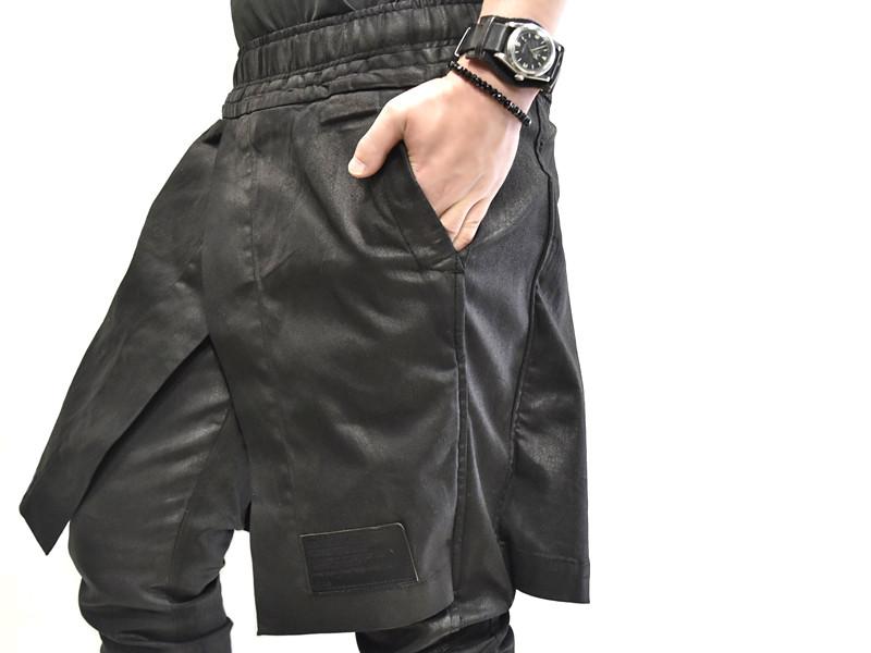 JULIUS skirt pants 着用 接写 通販 GORDINI001