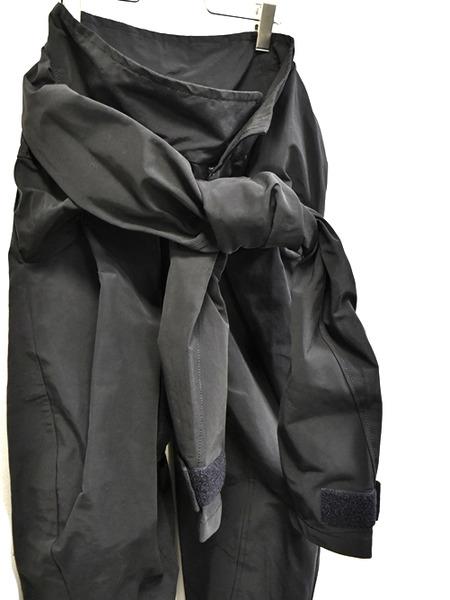 JULIUS sleeve pants black 通販 GORDINI007
