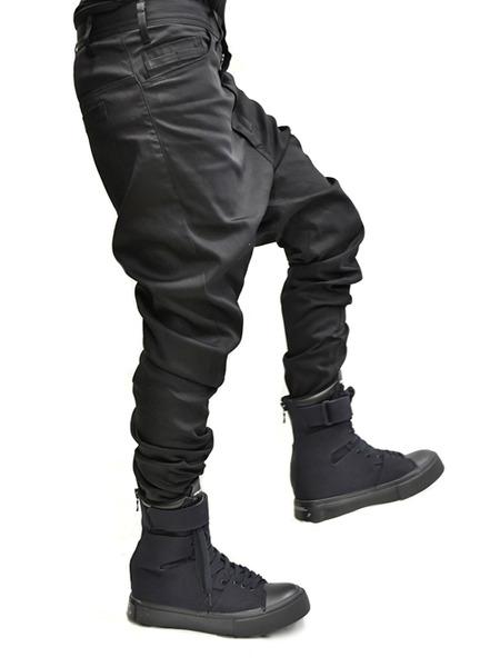 JULIUS crotch pants 着用 通販 GORDINI007