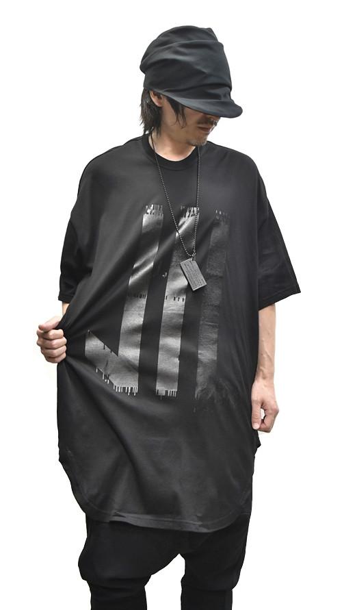 NILS Kamon Round T BLACK 通販 GORDINI005