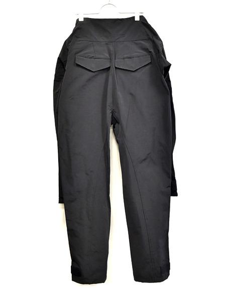 JULIUS sleeve pants black 通販 GORDINI008