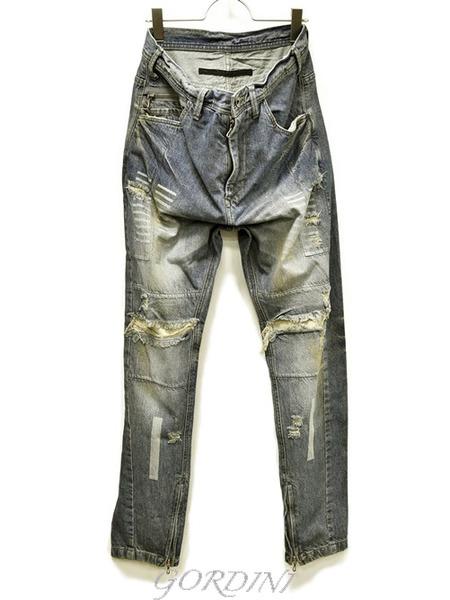JULIUS rider pants indigo 通販 GORDINI001のコピー