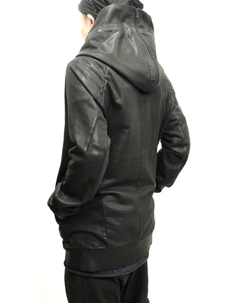 JULIUS coated zipup parka 通販 GORDINI006