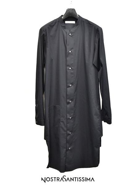 Nostrasantissima long shirts blk 通販 GORDINI001
