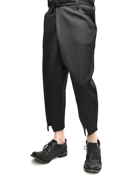 JULIUS tucked slit pants  通販 GORDINI008