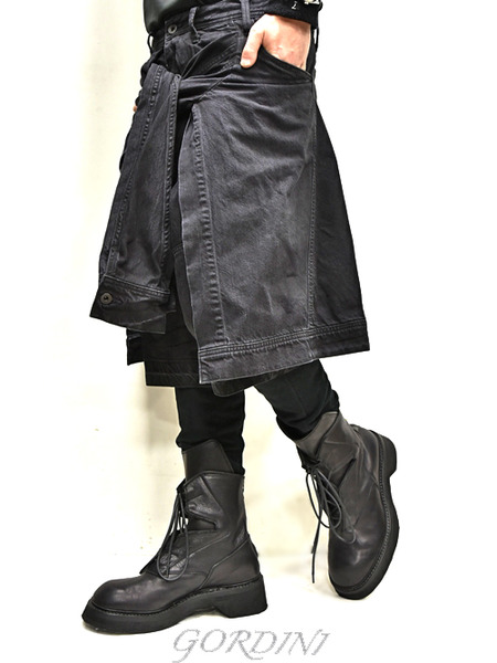 JULUS layered pants 通販 GORDINI007のコピー