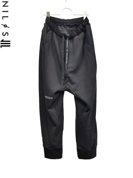 NILS print pants 通販 GORDINI001