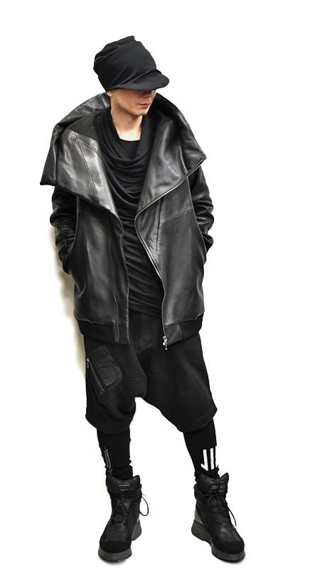 JULIUS leather PARKA set 通販 GORDINI003