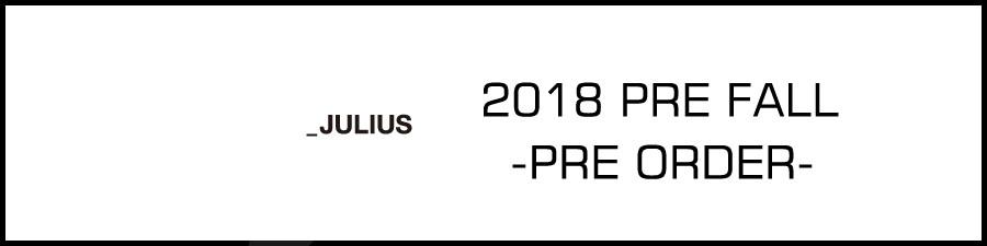 JULIUS2018PRE FALL banner
