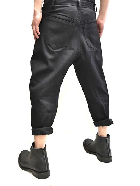 JULIUS bending cropped pants 着用 通販 GORDINI005