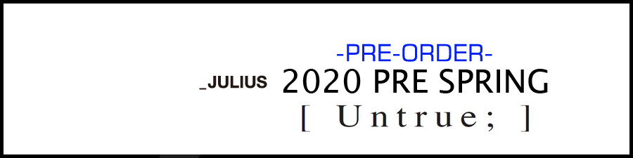 JULIUS 20 PS preorder